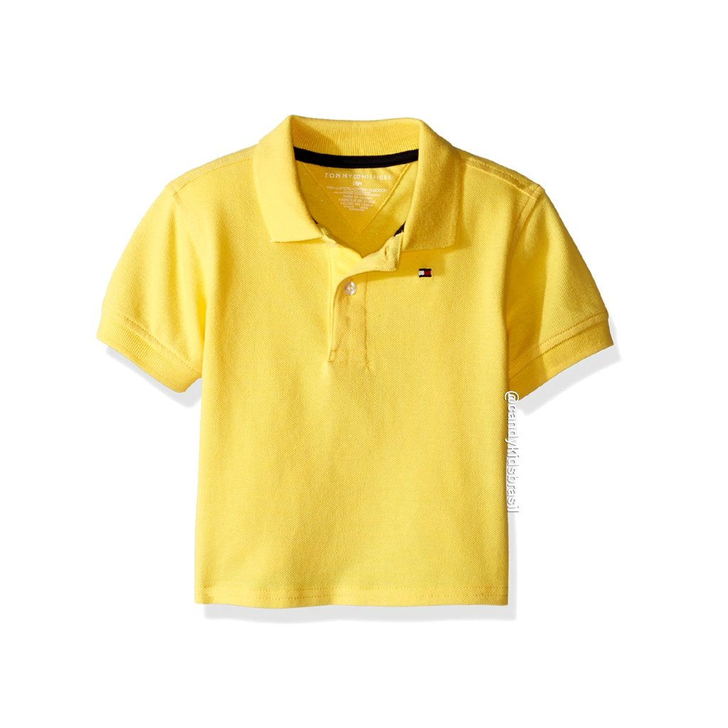 b3e03057c5 Tommy Hilfiger Baby - Gola Polo. 0% OFF