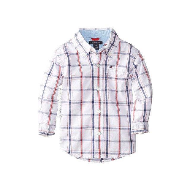 Camisa Social Tommy Hilfiger original Bebê 5096d2f212719