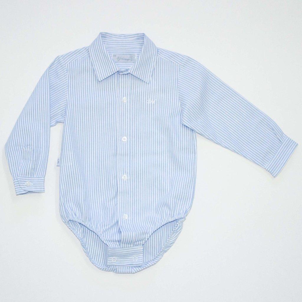 455b1f561 Body camisa para bebés manga larga