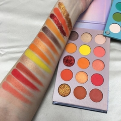 Paleta de Sombras Color Board 60 cores - Beauty Glazed - loja online