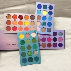 Paleta de Sombras Color Board 60 cores - Beauty Glazed