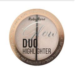 Iluminador Glow Duo Highlighter Cor 01 - Ruby Rose