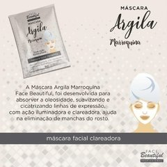 Máscara Facial Argila Marroquina - Face Beautiful - comprar online