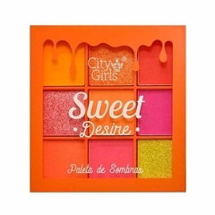 Mini Paleta Sweet Desire 9 Cores C - City Girls