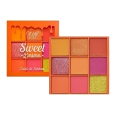 Mini Paleta Sweet Desire 9 Cores C - City Girls - comprar online