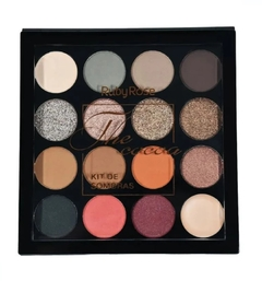 Kit de Sombras + Primer The Cocoa 15 cores - Ruby Rose