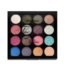 Kit de Sombras + Primer The Glow 15 cores - Ruby Rose