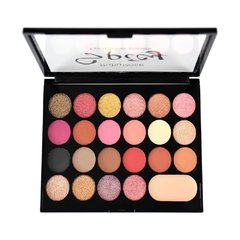 Kit de Sombras + Primer Spicy  22 Cores - Ruby Rose