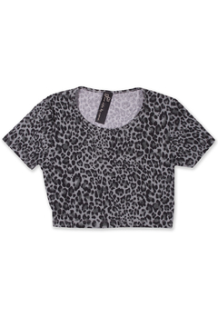 Top animal print - comprar online