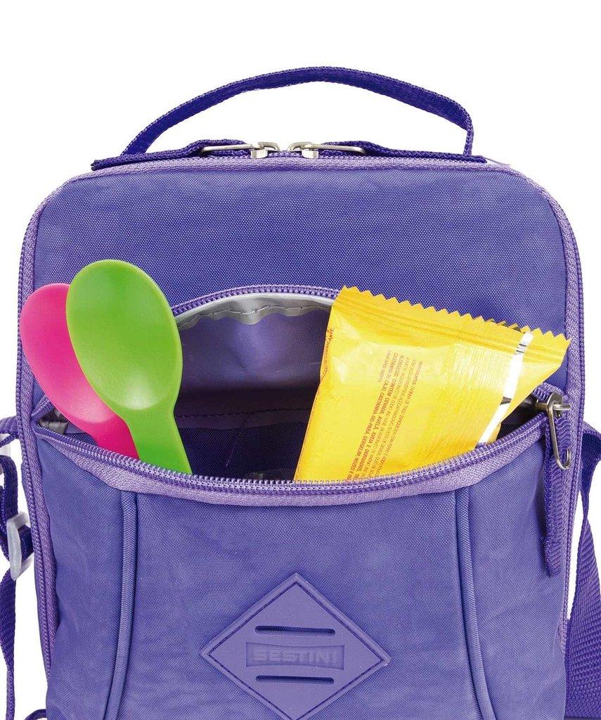 34957f4410 ... Lancheiras - Meninas - Lancheira Marmiteira Rosa Claro Pocket Sestini  Lunch Crinkle. Esgotado. 9%. OFF. 1