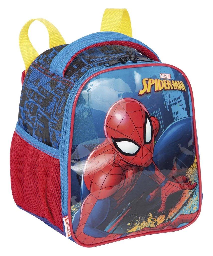 50f9f7c3a Lancheira Térmica Homem Aranha Spider-Man 19X Original Azul