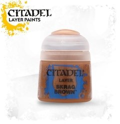 TINTA CITADEL -  LAYER SKRAG BROWN