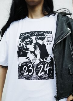 Camiseta Sonic Youth - Poster 1990 - comprar online