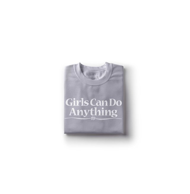 Camiseta Girls Can Do Anything na internet