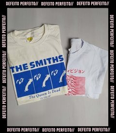 Kit Camiseta The Smiths + Cropped Joy Division
