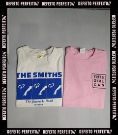 Kit Camiseta The Smiths + This Girl Can