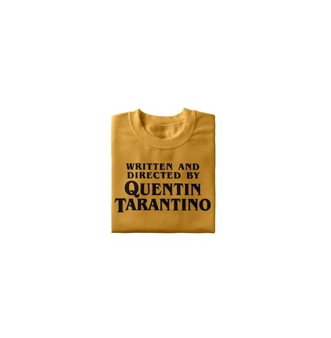 Camiseta Written and Directed by Quentin Tarantino - comprar online