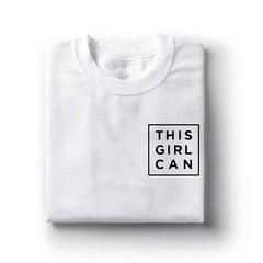 Camiseta This Girl Can - loja online