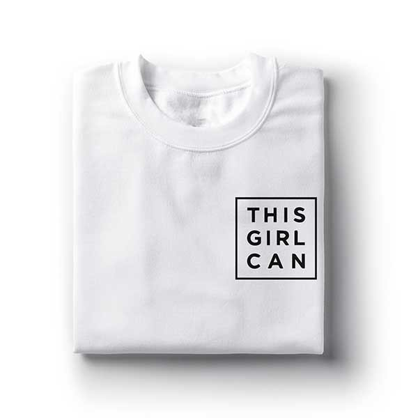 Camiseta This Girl Can - comprar online