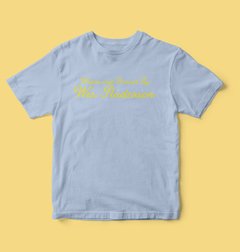 Camiseta Written and directed by Wes Anderson na internet