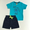 Conjunto Monstrinho Camiseta e Bermuda Up Baby