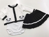 Conjunto body Panda Mini Noruega