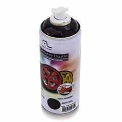 Spray Envelopamento Líquido 400ml Preto Fosco Multilaser - Perretti Multimarcas