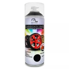 Spray Envelopamento Líquido 400ml Preto Fosco Multilaser na internet