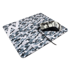 COMBO MOUSE Y PAD GAMER CAMO NOGA