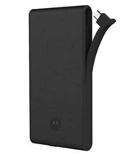 CARGADOR PORTÁTIL POWER BANK SLIM MOTOROLA 2400 MAH