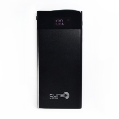 CARGADOR PORTÁTIL POWER BANK TURBO SEND+ 10000 MAH DISPLAY