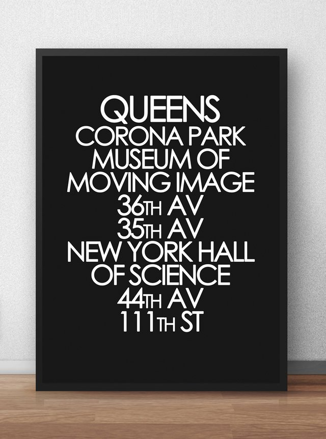 Poster Queens NYC