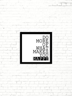 Poster What Makes You Happy - comprar online