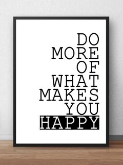 Poster What Makes You Happy