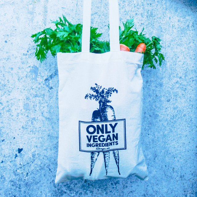 Bolsa de Tela Only Vegan Ingredients - comprar online