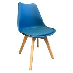 Silla Tulip Base de Madera IMS Asiento Polipropileno Mate IN-PC-08/A en internet