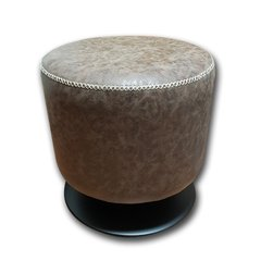 Puff Base Negra Ecocuero IN-M-351