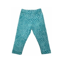 Art. 7504 - Calza mini beba Animal Print - Blue Baby & Kids