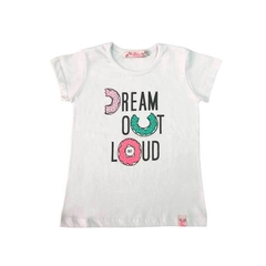 Art. 7648 – Remera niña m/corta Dream - comprar online
