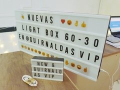 Pantalla SUPER Cinema Light Box 60x29,5x5cm - Guirnaldas Vip