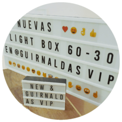 Pantalla SUPER Cinema Light Box 60x29,5x5cm