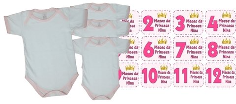 Body Mesversario Princesa