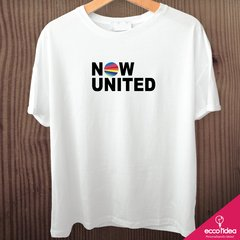 Camiseta branca - NOW UNITED - LOGO - comprar online