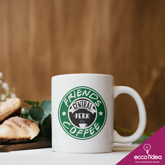 CANECA DE LOUÇA - FRIENDS - COFFEE FRIENDS - CENTRAL PERK - comprar online