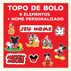MINI Kit festa - MICKEY MOUSE - COMPLETO - comprar online