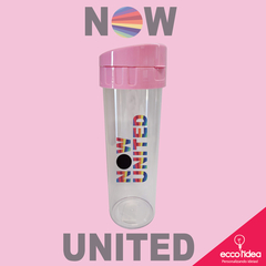 ECO WATER COM TAMPA ROSA - NOW UNITED -  CORES INVERTIDAS