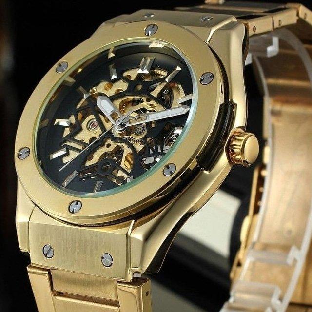 bfdd6718c77 Relógio Winner Automatic