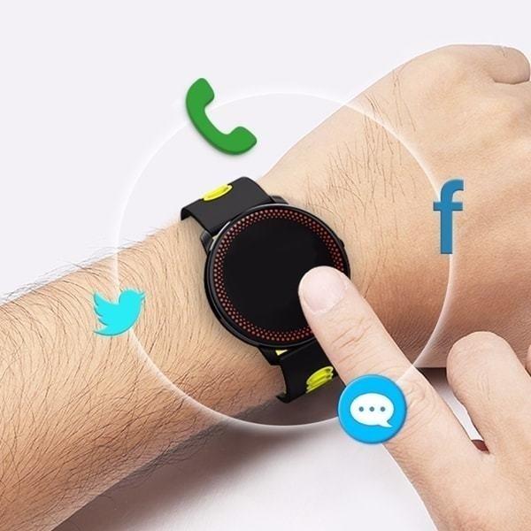 094278b6498 ... Smartwatch Relógio Eletrônico CF 007 Pró Saúde. Esgotado. 24%. OFF.  Frete grátis