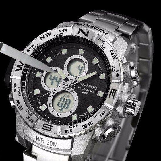f569a7dd444 Relógio Boamigo S-Shock