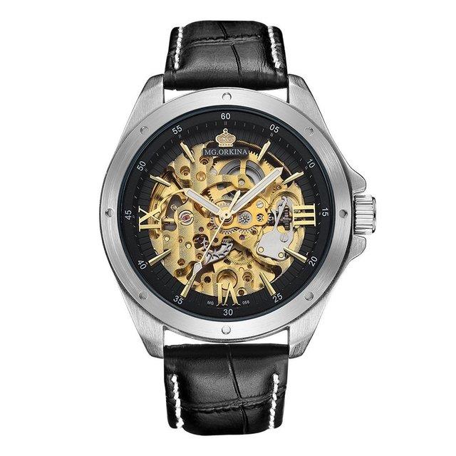 1676cbb5d2f Comprar Relógios em AlfaTime  Preto E Prata - Couro.
